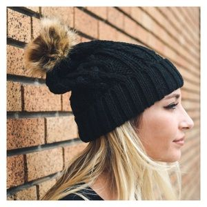 New Arrival- 5 Colors, Cable Knit Beanie