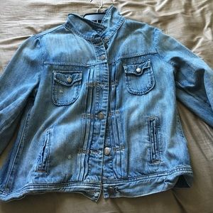 J. Crew Jackets & Coats - J Crew denim jacket in size L