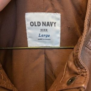 Old Navy Jackets & Coats - Old Navy Leather Jacket