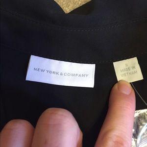 New York & Company Tops - NWT Black NY&C top