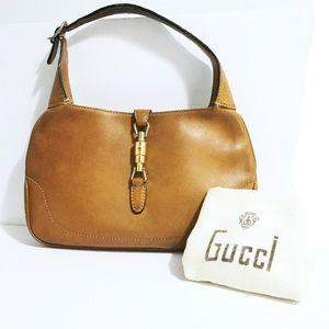 Original 1960s vintage Gucci jackie hobo bag