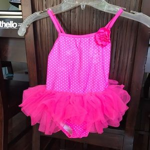 Other - 3T OP toddler girl tutu swimsuit