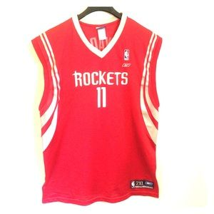 Yao Ming Houston Rockets AUTHENTIC Reebok Jersey