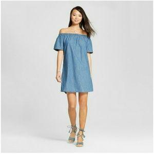 Dresses & Skirts - 💙💙💙OFF SHOULDER DRESS BLUE 💙💙💙