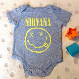 Other - 🌸 NEW! 🌸 NWOT Nirvana Onesie