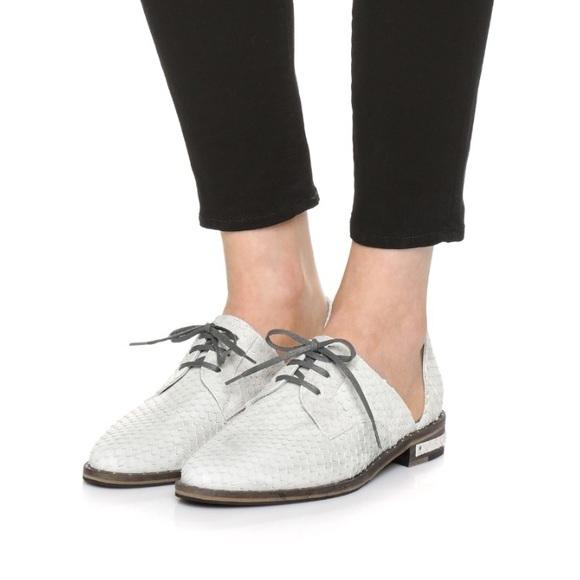 e9f68fe3901 Freda Salvador Shoes - D orsay oxford in smoke