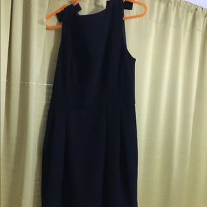 Little Black Dress with bows Ann Taylor size 6