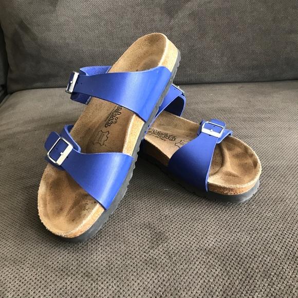 Birkenstock Royal Blue 2strap Sandals