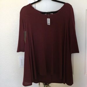 NEW - Project social T burgundy sweater from UO