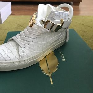 Buscemi 100MM Self Excl, Croc Print for sale
