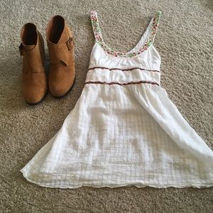 Embroidered Free People Tank, S