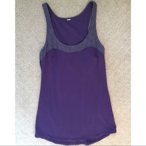 Lululemon Purple Tank. Size 4