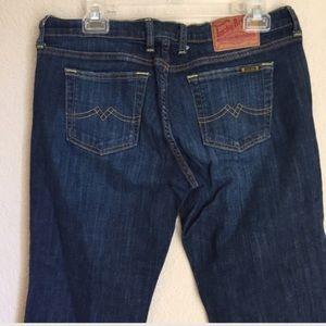 Lucky brand crop denim jeans