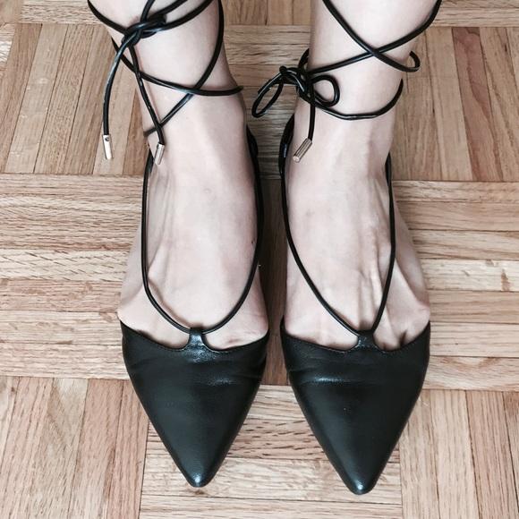 Aldo Shoes - Aldo lace-up pointy flats