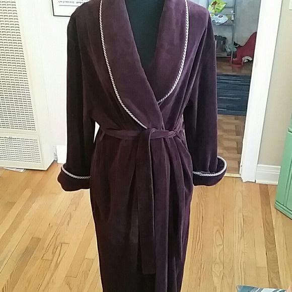Vintage Royal Purple Robe! Large♡. M 5990c00dd14d7b8ede120e0d 20340b637