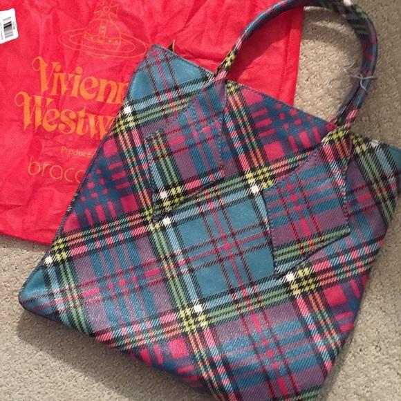 703f236b6a Vivienne Westwood Bags | Nwot Vintage Tartan Handbag | Poshmark