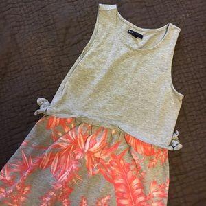 🌴 Gap tropical print dress VGC 🌴