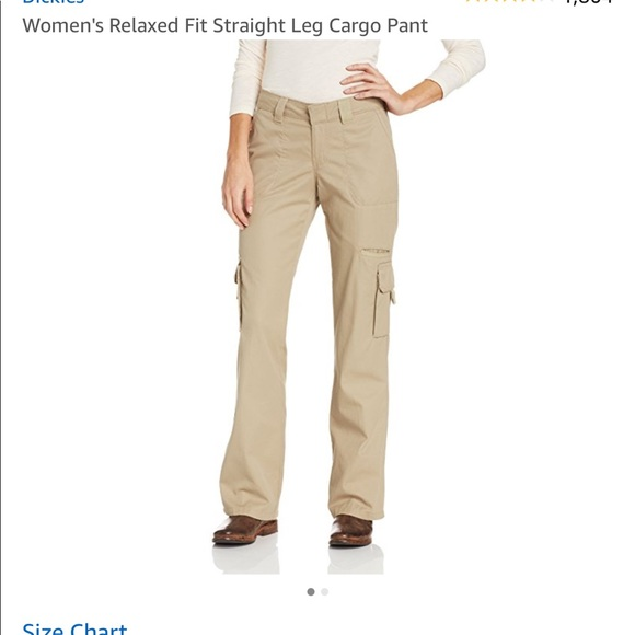 8c8dc73a07c Straight Leg Relaxed Fit Women s Cargo Pants