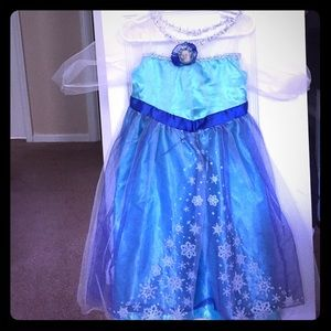 Other - Elsa & Anna dress up dresses; fits sizes 4-6x