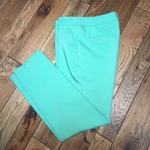 Mint Green Slacks