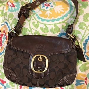 Vintage Coach brown small purse