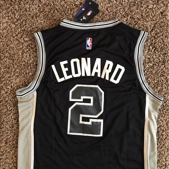 2 Kawhi Leonard San Antonio Spurs Swingman Jersey f7109cfb6