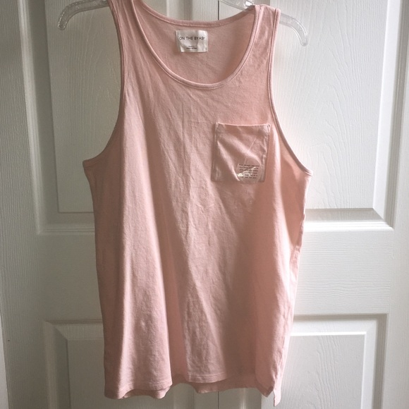 on the byas Other - Light pink on The Byas tank top w/ slit on sides