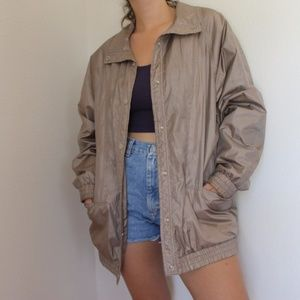 Vintage Metallic Jacket