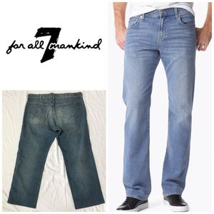 7 For All Mankind Men's A Pocket Relaxed Jeans 👖