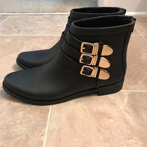 Loeffler Randall Fenton rain boots