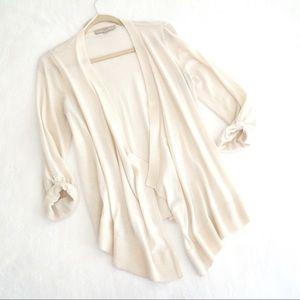 LOFT Off-White Cardigan
