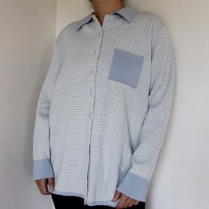 Vintage Grid Sweater