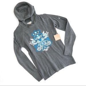 Telluride Charcoal Gray Ski Sweater