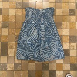 tally weijl Dresses - Strapless blue dress