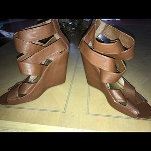 Shoes - Wrap around Wedges