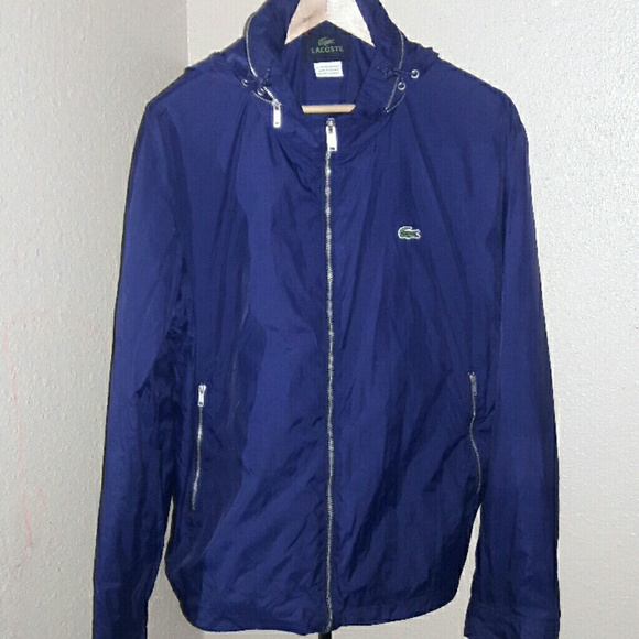 Lacoste windbreaker jacket