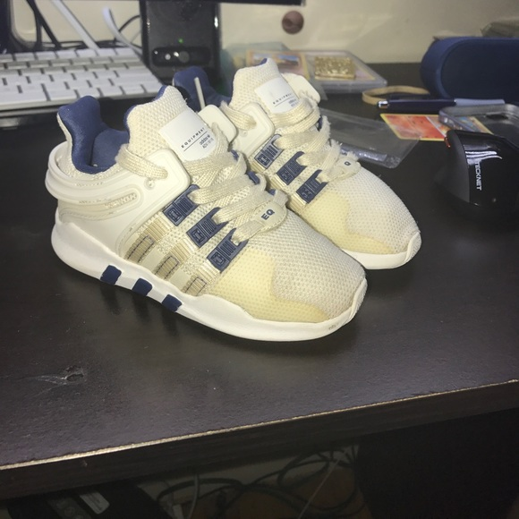 adidas Boys' EQT ADV Casual Athletic Sneakers from