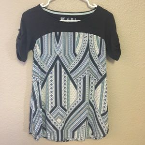 Meadow Rue Anthropology size XS super cute top.