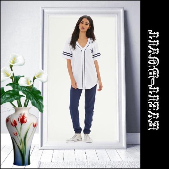 ff387f8cf NFL Dallas Cowboys Baseball Jersey