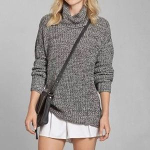 NWOT Abercrombie & Fitch Marled Turtleneck