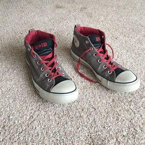 Grey boys shoes. Good condition.