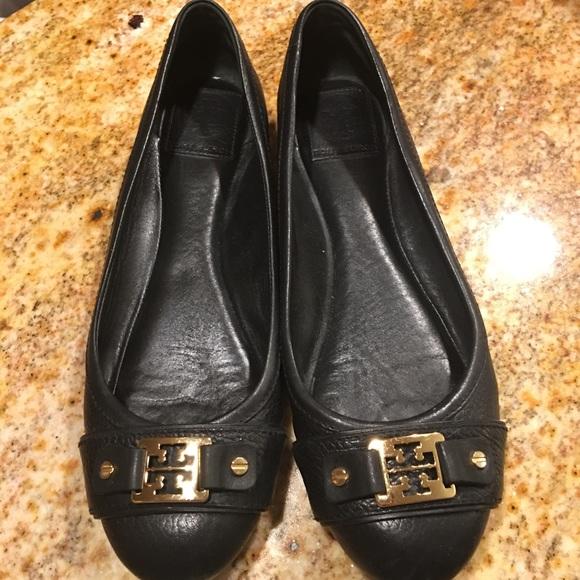 7879e2ebf95ea Tory Burch Shoes - Tory Butch Ballet Flats - size 9 1 2 Black