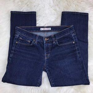 J Brand Straight Leg Skinny Capri 935 Ink Jeans