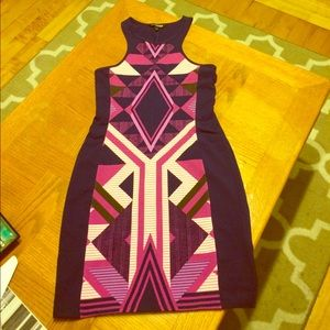 NWOT Express Body Con dress