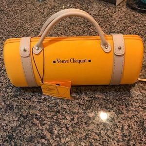 Veuve clicquol limited edition traveler clutch