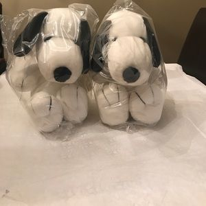 Other - 2 brand new Snoopys