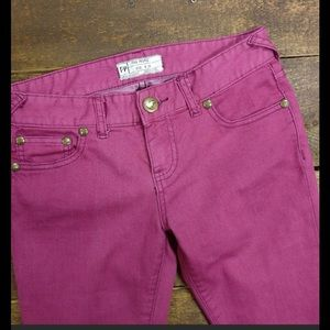 Pink Free People Jeans!!