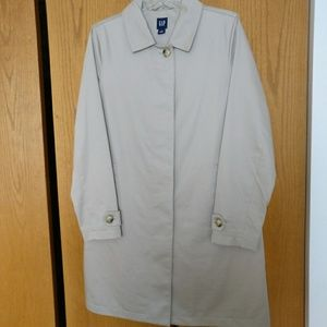 Gap Cotton Dress Coat