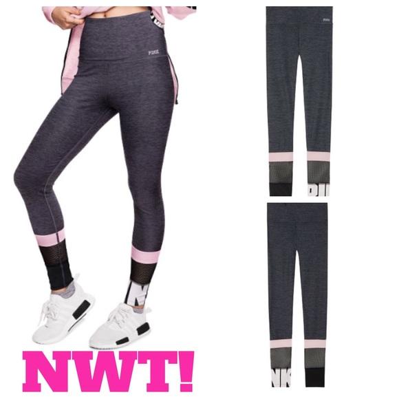 91595ffb8e61d3 Victorias Secret Pink Bling Sequin Leggings NWT M NWT My Posh