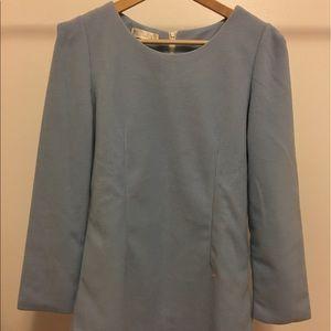 Dresses & Skirts - Elegant blue velvet dress